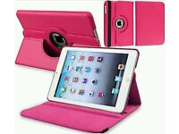 Leather 360 Degree Rotating Smart Stand Case Cover For iPad 5