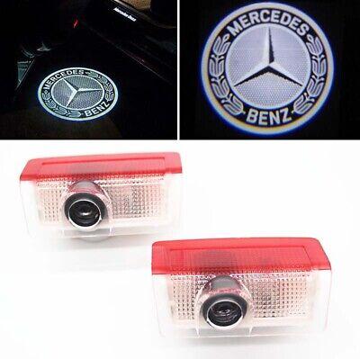 Türlicht LED Beleuchtung Mercedes Benz Logo Laser Projektor A B C E GLA GLC GLE