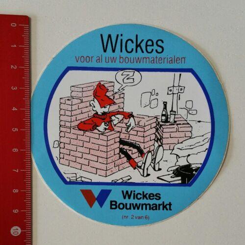 Aufkleber/Sticker: Wickes Bouwmarkt - voor al uw bouwmaterialen (220217111)