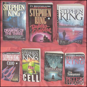 Lot of 7 Stephen King Pocket Books