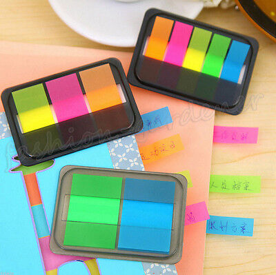 Fluorescen Sticker Post It Bookmark Marker Memo Flags Index Pad Tab Sticky Notes on Rummage