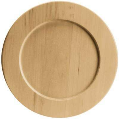 Basswood Country Plate-9-1/2X9-1/2/Basswood