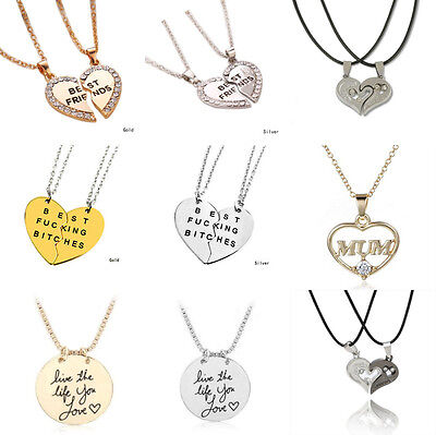 Best Gift Friends Family Life Inspire Pendant Jewelry Necklace Valentines Day