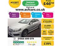 2013 SILVER MERCEDES A180 1.5 CDI AMG SPORT DIESEL AUTO CAR FINANCE FROM 46 PW