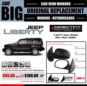 JEEP LIBERTY [2002-2012] ► MIROIR – RETROVIEUR NEUF ‖ NEW MIRROR