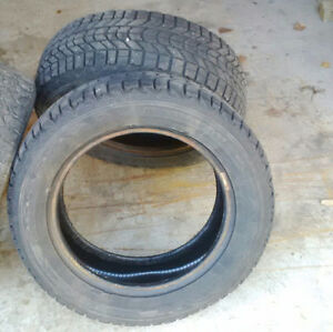 2 goodyear winter tires. Used only 1 winter