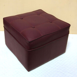 2 Fun Purple Footstools  /  Hassocks SEE VIDEO