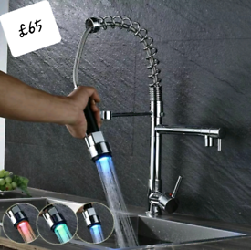 Led kitchen taps new in box inc pipes