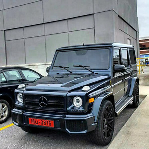 2003 Mercedes Benz G500 ///AMG CUSTOM. FACE-LIFT TO G63 ///AMG
