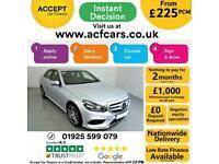 2014 SILVER MERCEDES E220 2.1 CDI AMG SPORT AUTO SALOON CAR FINANCE FR £225 PCM