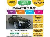 2013 BLACK MERCEDES E220 2.1 CDI AMG LINE 2DR CONVERTIBLE CAR FINANCE FR £273PCM