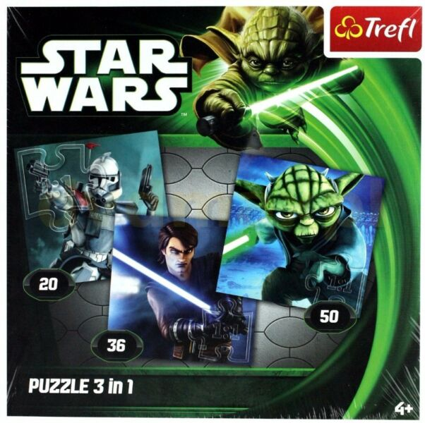 puzzle 3 in 1 STAR WARS
