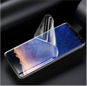 iPhone XS / Samsung Note 9 / S8 Soft Hydrogel screen protector