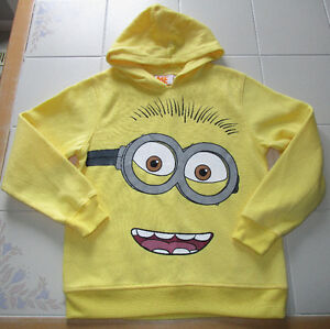 Minion hoody in size Lg (10/12) *NEW - never worn