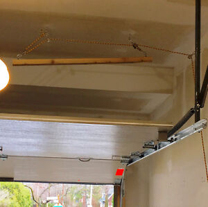 Garage ceiling storage for your kayak