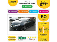 Vauxhall/Opel Astra VXR FROM £77 PER WEEK!