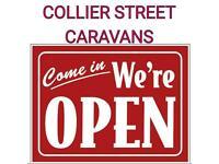 2 4 5 6 BERTH CARAVANS @COLLIER STREET CARAVANS WE ARE OPEN
