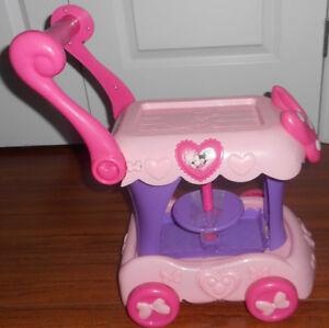 Disney Minnie Mouse Tea Cart