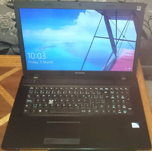 17 Inch Lenovo IdeaPad G700 Laptop, windows 10