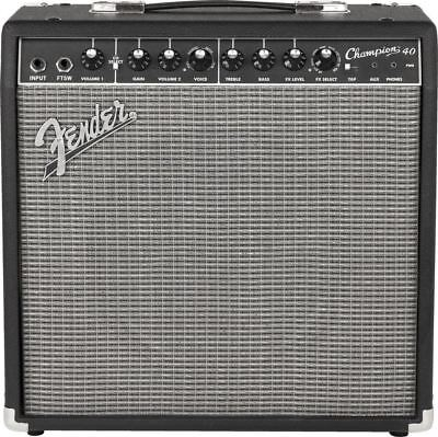 "Fender Champion 40 1x12"" 40-Watt Guitar Combo Amp Demo"