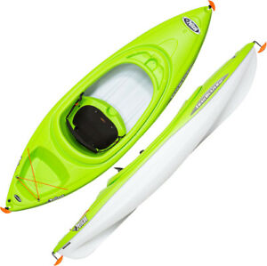Pelican trailblazer NXT 80 - 8 ft beginners kayaks in green