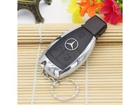 Mercedes Benz Key USB Flash Drive 8GB Metal Car Key Shape USB for £6.99