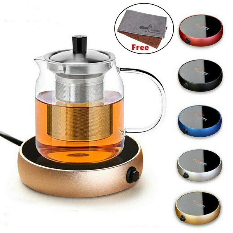 Coffee Electric Tray Heater Water Kettle Hot Tea Pot Portabl