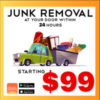 Affordable - Same Day - Junk Removal - Only $99- Within 24 Hours