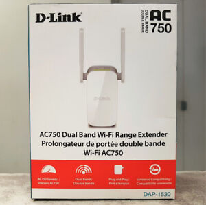 D-Link Dual Band Wireless AC Wi-Fi Booster - NEW