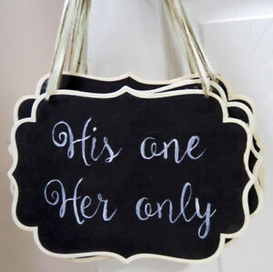 Small Chalkboard signs with sayings
