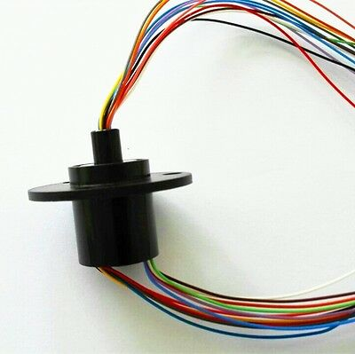 Slip Rings With Capsules 12 Circuits 12 Wires2a 22mm Ac240v Test Equipment
