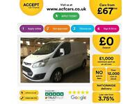 Ford Transit Custom Limited FROM £67 PER WEEK!