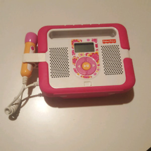Fisher Price Digital music player with microphone
