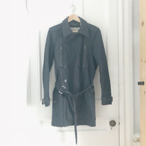 Trench coat marine / Diesel / Small / Homme