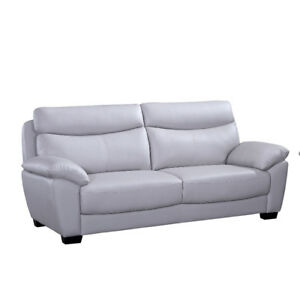 Evan genuine leather sofa $1299 Tax INCL. & FREE LOCAL DELIVERY