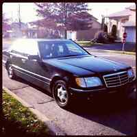 1999 Mercedes-Benz S320 LIMITED EDITION PRESIDENTIAL CAR