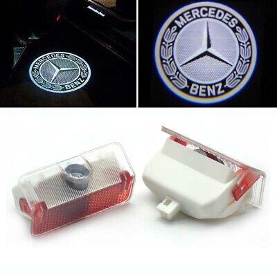 2x Led Türlicht Logo Projektor für Mercedes Benz A W168 W169 B W245 GLK X204
