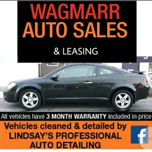 2010 cobalt LT $ 5995 certified and e tested