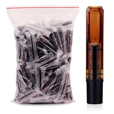 10Pcs Reusable Super  Reduce Tar Smoke Tobacco Filter Cigarette Holder