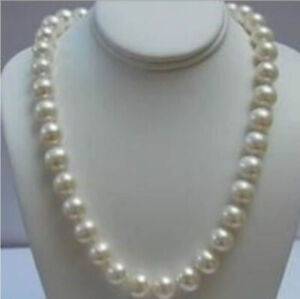 14K Solid Gold Clasp 8-9 MM White Akoya Pearl Necklace