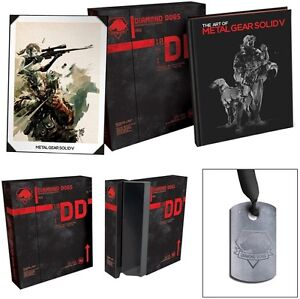 The art of metal gear solid V edition limite EXTREMEMENT RARE
