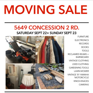 MOVING SALE!!! THIS WEEKEND - York/Durham Region