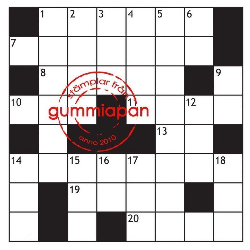 Gummiapan Gummistempel 12070401 - Rätsel Vorlage Hintergrund Wörter ...