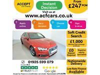 2016 RED AUDI A4 2.0 TDI 190 S LINE DIESEL MANUAL SALOON CAR FINANCE FR £247 PCM