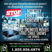 ALL Movies /TV Shows / Sports / PPV / UFC  NO MONTHLY COST