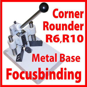 New Heavy Duty Corner Cutter 2 dies 1/4,3/8 cutting thick stack