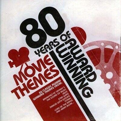 80 YEARS OF AWARD WINNING MOVIE THEMES  (NEW CD) ()