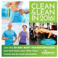 Isagenix!! Contact me to order today.