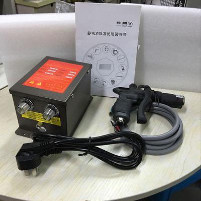 110v Industrial Ion Wind Gun Kit Static Eliminatorpower Supply 7kv Ion Air Gun