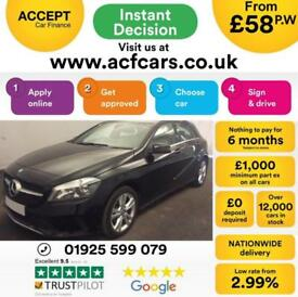 2016 BLACK MERCEDES A200 2.1 SPORT EXECUTIVE DIESEL AUTO CAR FINANCE FROM 58 P/W